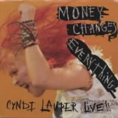Lauper, Cyndi - Money Changes Everything (with picture sleeve) - NM9/NM9 - 45 rpm Records