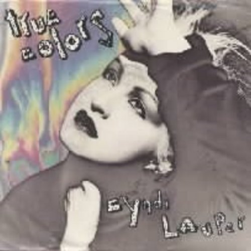 Lauper, Cyndi - True Colors/Heading For The Moon (with picture sleeve) - NM9/VG7 - 45 rpm Records