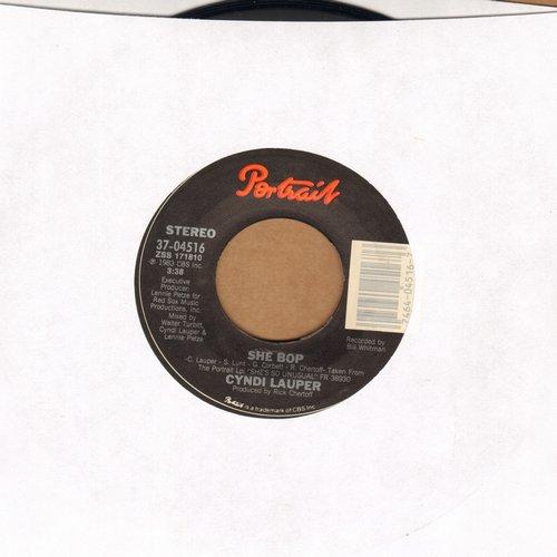 Lauper, Cyndi - She Bop/Witness - EX8/ - 45 rpm Records
