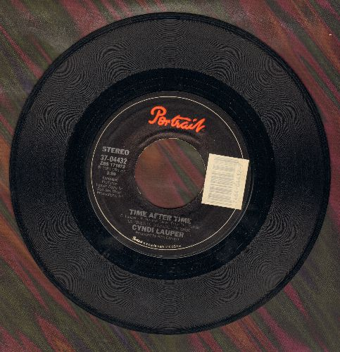 Lauper, Cyndi - Time After Time/I'll Kiss You - VG7/ - 45 rpm Records