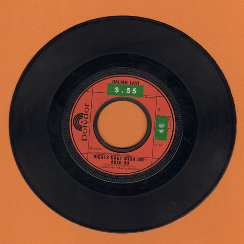 Lavi, Daliah - Nichts haut mich um—aber du (I Get A Kick Out Of You) - EX8/ - 45 rpm Records