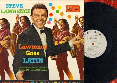 Lawrence, Steve - Lawrence Goes Latin: Small World, Everything's Comin' Up Roses, Tonight, Bewitched Bothered And Bewildered (vinyl MONO LP record, DJ advance pressing) - NM9/EX8 - LP Records