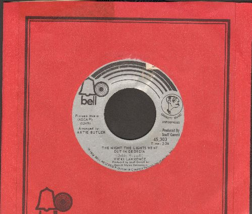 Lawrence, Vicki - The Night The Lights Went Out In Georgia/Dime A Dance (with Bell company sleeve) - NM9/ - 45 rpm Records