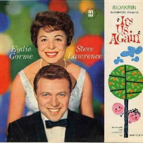 Lawrence, Steve & Eydie Gorme - Silvikrin Shampoo Presents - It's Us Again: Sunday Monday Or Always, Aren't You Glad You're You, I Wish You Were Mine (vinyl LP record) - NM9/EX8 - LP Records