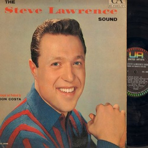 Lawrence, Steve - The Steve Lawrence Sound: Let's Face The Music And Dance, Temptation, Frenesi, Night And Day, Someday (vinyl MONO LP record, 1960 first pressing) - VG7/VG7 - LP Records