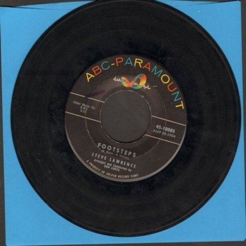 Lawrence, Steve - Footsteps/You Don't Know - VG7/ - 45 rpm Records