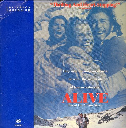 Alive - Touchtone's Alive Letterbox Double Laser Disc  - NM9/NM9 - Laser Discs