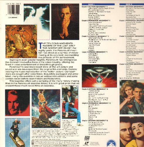 Paramount Promo - Paramount Promo Laser Disc, See Pictures for Titles - NM9/EX8 - Laser Discs