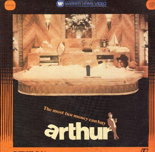 Arthur - Arthur Laser Disc Starring Dudley Moore Liza Minnelli - NM9/EX8 - Laser Discs