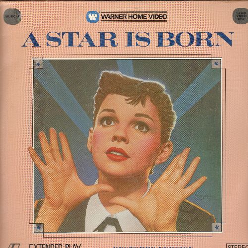 A Star Is Born - A Star Is Born Double Laser Disc Starring Judy Garland (cover seam split) - NM9/VG7 - Laser Discs