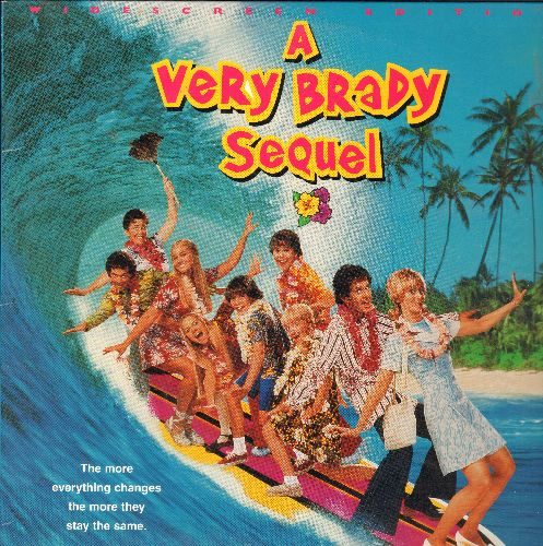 A Very Brady Sequel - A Very Brady Sequel LASER DISC VERSION - NM9/EX8 - Laser Discs