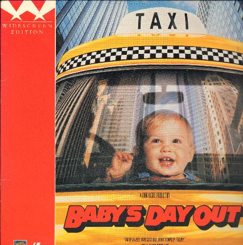 Baby's Day Out - Baby's Day Out LASER DISC VERSION Staring Joe Mantegna - NM9/NM9 - Laser Discs