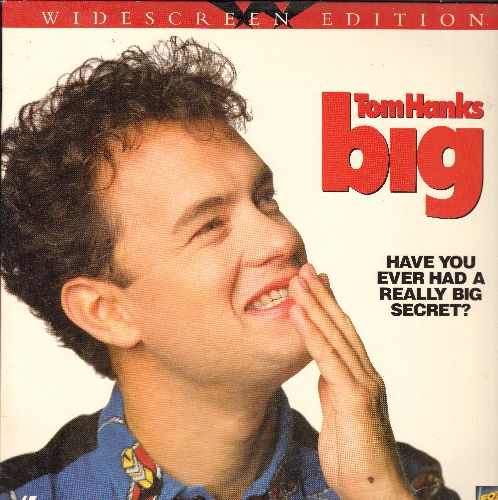 Big - Big Widescreen LASER DISC VERSION Starring Tom Hanks - NM9/NM9 - Laser Discs