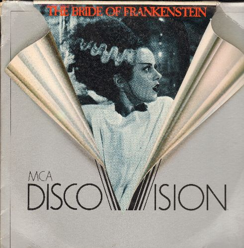 Bride Of Frankenstein - The Bride Of Frankenstein LASER DISC VERSION Starring Elsa Lancaster and Boris Karloff - NM9/EX8 - Laser Discs