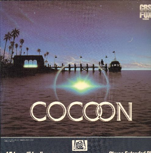 Cocoon - Cocoon Laser Disc Starring Do Amechie, Wilford Brimley, Hume Cronyn, Jack Gilford, Jessica Tandy, Gwen Gerdon, Maureen Stapleton - NM9/EX8 - Laser Discs