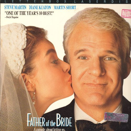 Father  Of The Bride - Father Of The Bridge LASER DISC VERSION Starring Steve Martin, Diane Katon and Martin Short  - NM9/NM9 - Laser Discs