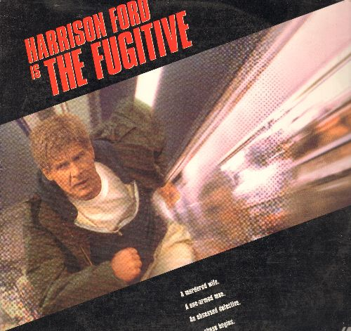 Fugutive - The Fugitve Double LASER DISC VERSION Starring Harrison Ford and Tommy Lee Jones - NM9/NM9 - Laser Discs