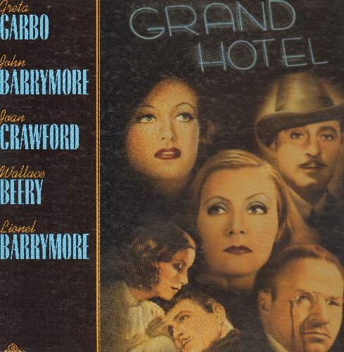 Grand Hotel - Grand Hotel LASER DISC VERSION Starring Greta Garbo, John Barrymoore, Joan Crawford, Wallace Berry and Lionel Barrymore - EX8/EX8 - Laser Discs