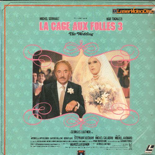 La Cage Aux Folles 3 - La Cage Aux Folles 3 Laser Disc - NM9/EX8 - Laser Discs