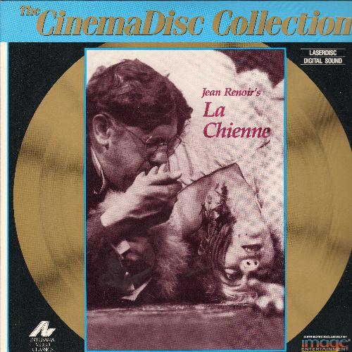 La Chinne - La Chienne Jean Renoir's Laser Disc - NM9/EX8 - Laser Discs