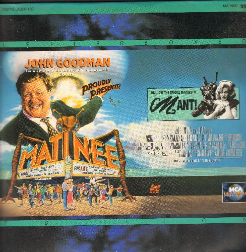 Matinee - Matinee Double LASER DISC VERSION Starring John Goodman - NM9/NM9 - Laser Discs