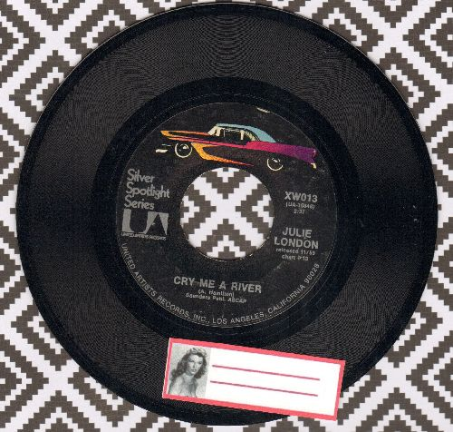 London, Julie - Come On-A My House/Cry Me A River (double-hit re-issue) - NM9/ - 45 rpm Records