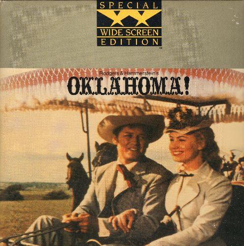 Oklahoma - Oklahoma Widescreen Dobule LASER DISC VERSION Starring Gordon MacRae and Shirley Jones - NM9/EX8 - Laser Discs
