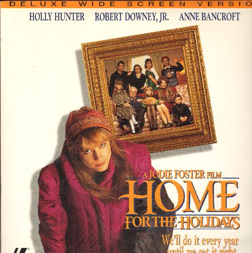 Home For The Holidays - Home For The Holidays LASER DISC VERSION Directed A Jodie Foster Film Starring Holly Hunter, Robert Downey Jr and Anne Bancroft - NM9/EX8 - Laser Discs