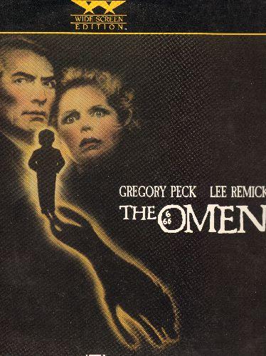 Omen - The Omen LASER DISC VERSION Starring Gregory Peck - NM9/NM9 - Laser Discs
