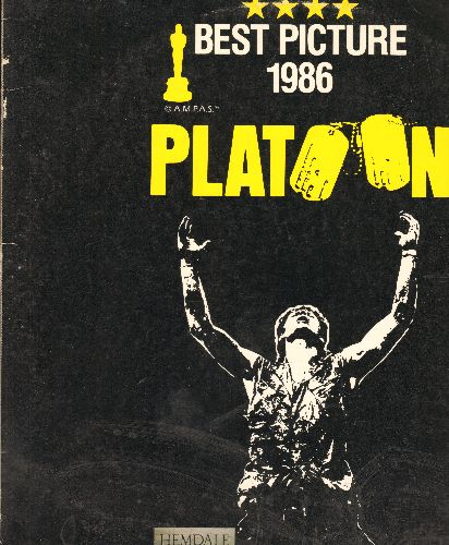 Platoon - Platoon Laser Disc Starring Tom Berender, William Dafoe and Charlie Sheen - NM9/EX8 - Laser Discs