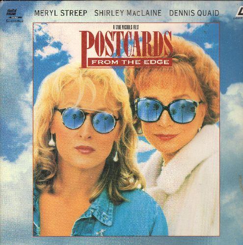 Postcards From The Edge - Postcards From The Edge LASER DISC VERSION Starring Meryl Streep, Shirley Maclaine and Dennis Quaid - NM9/NM9 - Laser Discs