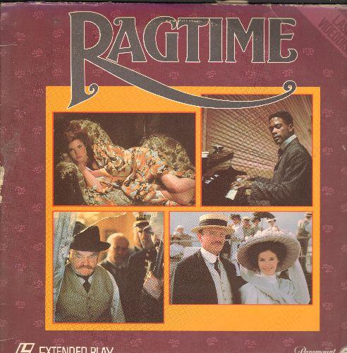 Ragtime - Ragtime Laser Disc Starring James Cagney - NM9/VG7 - Laser Discs