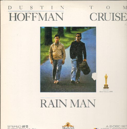 Rainman - Rainman Double Laser Disc Starring Duston Hoffman and Tom Cruise - NM9/EX8 - Laser Discs