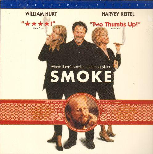 Smoke - Smoke - LASER DISC VERSION Starring William Hurt And Harvery Keitel - NM9/EX8 - Laser Discs