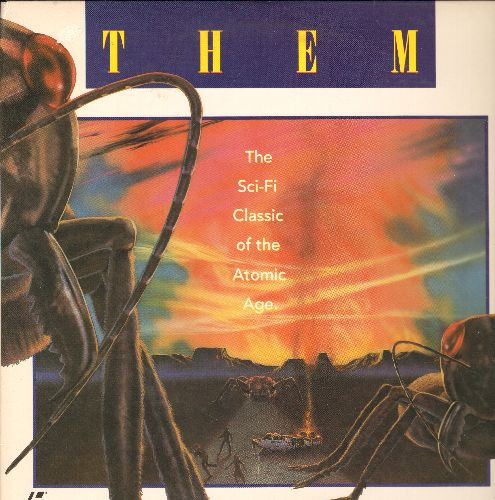 Them - Them LASER DISC VERSION Si-Fi Classic - NM9/EX8 - Laser Discs