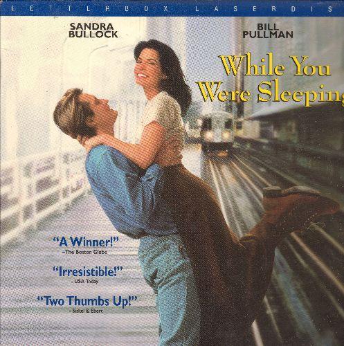 While You Were Sleeping - While You Were Sleeping LASER DISC VERSION Starring Sandra Bullock and Bill Pullman - NM9/NM9 - Laser Discs