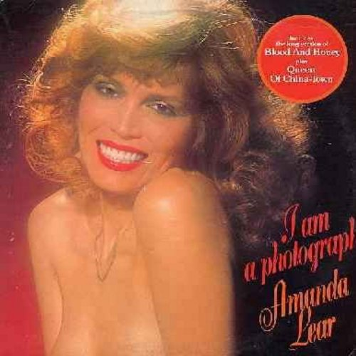 Lear, Amanda - I Am A Photograph: Blood And Honey (7 minute Extended Disco Version!), Queen Of China-Town, Blue Tango, The Lady In Black (vinyl LP record, original 1977 US first issue -- Amanda Lear is a Dicso/Dance Cult-Figure in Europe!) - NM9/EX8 - LP