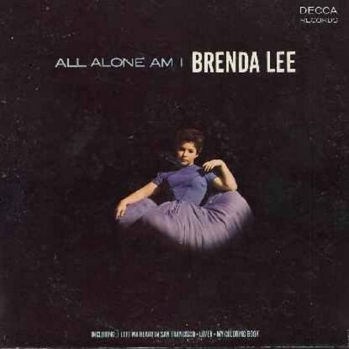 Lee, Brenda - All Alone Am I: I Left My Heart In San Francisco, My Prayer, Fly Me To The Moon, My Coloring Book, Come Rain Or Come Shine (vinyl LP record) (sol) - NM9/VG7 - LP Records