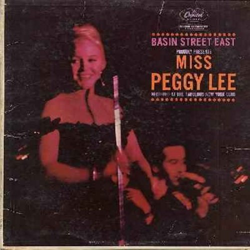 Lee, Peggy - Basin Street East: Fever, The Second Time Around, I Got A Man (Live Recording!, vinyl STEREO LP record) - EX8/EX8 - LP Records