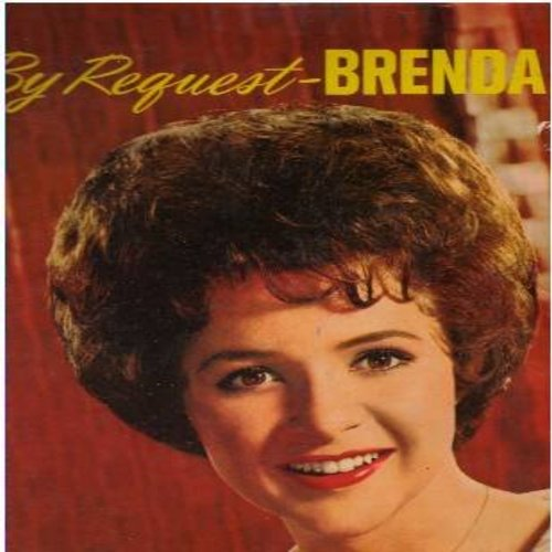 Lee, Brenda - By Request: Danke Schoen, More, Tammy, Blue Velvet, As Usual, I Wonder, The Grass Is Greener (vinyl STEREO LP record) - VG7/VG7 - LP Records