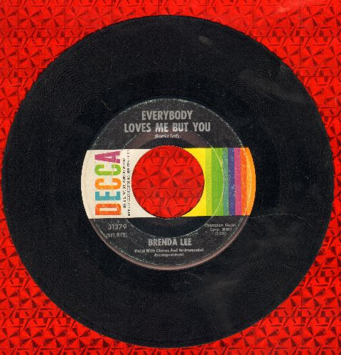 Lee, Brenda - Everybody Loves Me But You/Here Comes That Feelin' (FANTASTIC Overlooked flip-side!) - VG7/ - 45 rpm Records