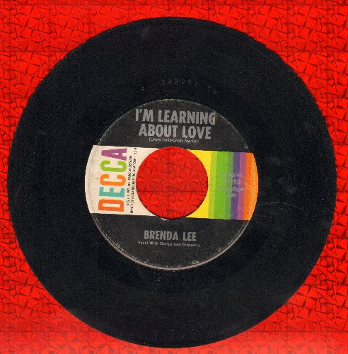 Lee, Brenda - Emotions/I'm Learnin' About Love  - EX8/ - 45 rpm Records