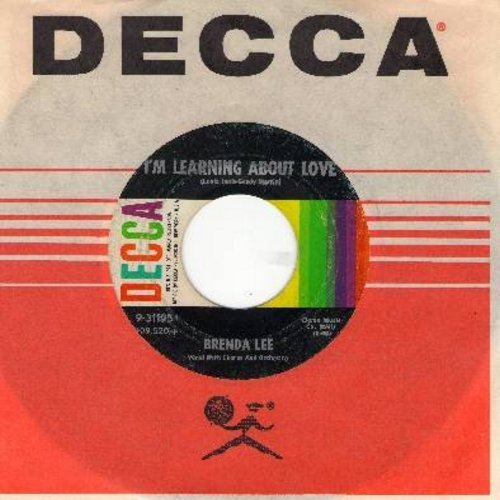 Lee, Brenda - Emotions/I'm Learnin' About Love (FANTASTIC flip-side!) (with Decca company sleeve) - EX8/ - 45 rpm Records