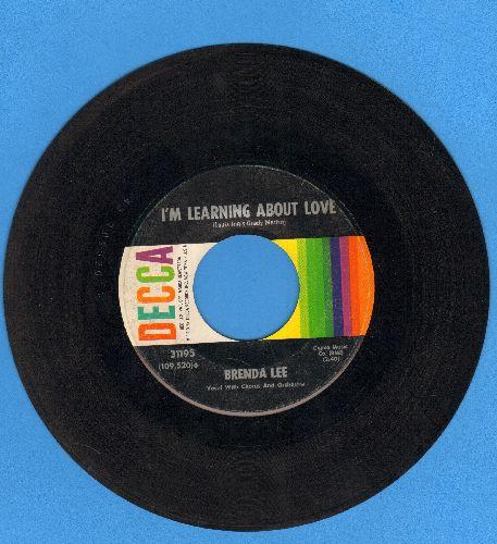 Lee, Brenda - Emotions/I'm Learnin' About Love (FANTASTIC flip-side!)  - VG7/ - 45 rpm Records