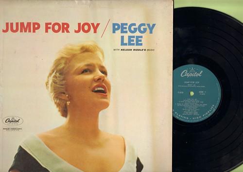 Lee, Peggy - Jump For Joy: The Glory Of Love, Ain't We Got Fun, Cheek To Cheek, I Hear Music (vinyl MONO LP record, NICE condition!) - NM9/EX8 - LP Records