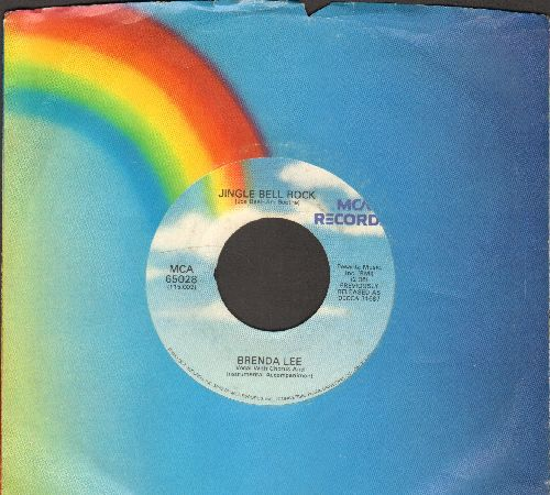 Lee, Brenda - Jingle Bell Rock/Winter Wonderland (with MCA company sleeve) - EX8/ - 45 rpm Records