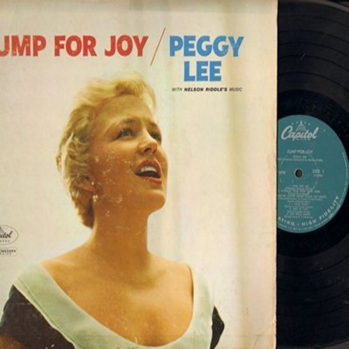 Lee, Peggy - Jump For Joy: The Glory Of Love, Ain't We Got Fun, Cheek To Cheek, I Hear Music (vinyl MONO LP record) - VG6/VG6 - LP Records