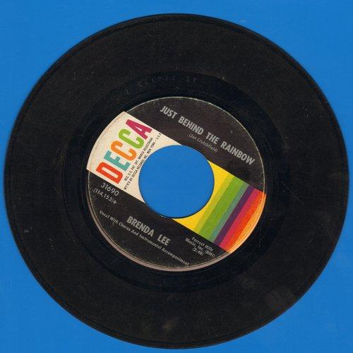 Lee, Brenda - Is It True?/Just Behind The Rainbow - VG7/ - 45 rpm Records