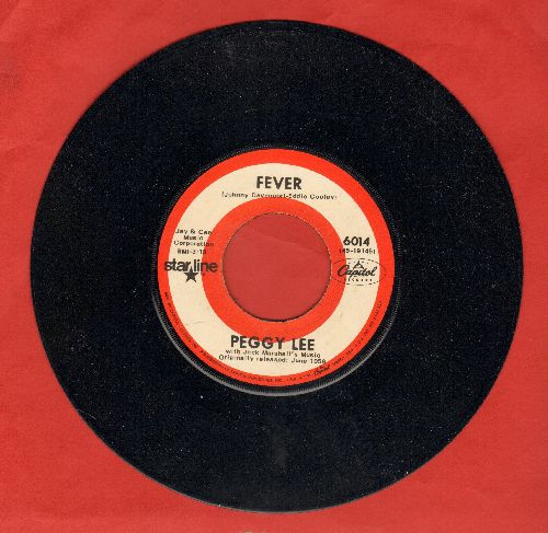 Lee, Peggy - Fever/Alright, Okay, You Win (double-hit re-issue)(MINT condition!) - M10/ - 45 rpm Records