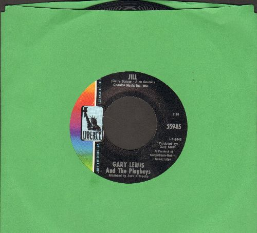 Lewis, Gary & The Playboys - Jill/New In Town - NM9/ - 45 rpm Records